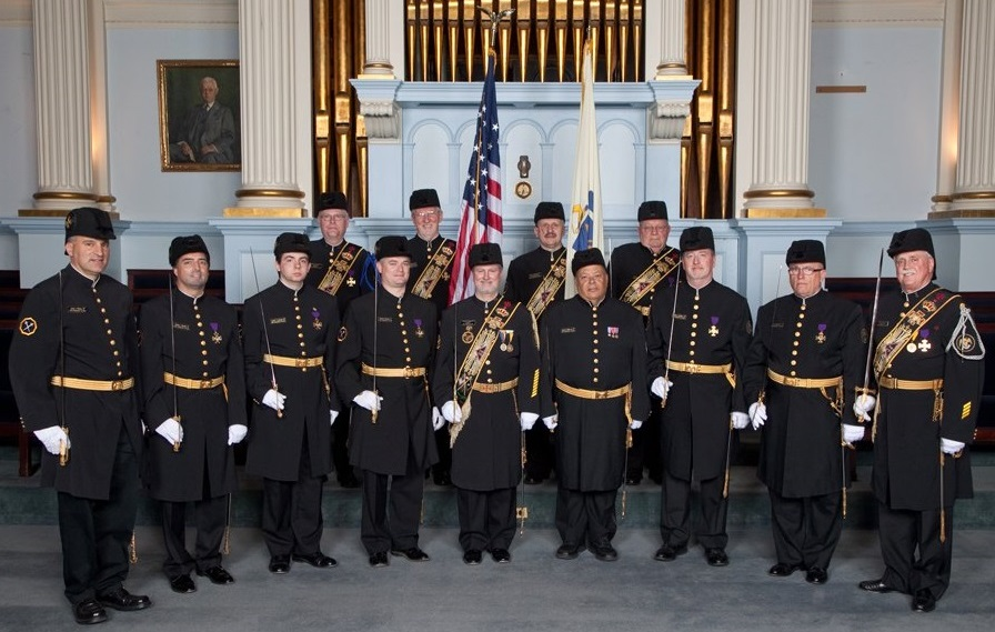 Just as each Scottish Rite degree needs a choir, it also needs a number of  men to escort officers and dignitaries. These men are the Massachusetts ...